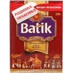 Tea Batik black loose 250g cardboard packaging Ukraine