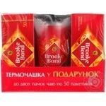 Tea Brooke bond black packed 100pcs 200g