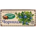 Чай Карпатський Чорниця фруктовий 2г х 20шт