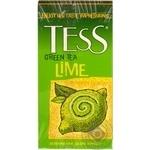 Чай Тесс Лайм зеленый с лаймом 1,5г х 25шт