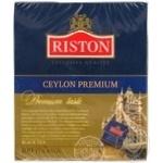 Черный чай Ристон Цейлонский Премиальный байховый мелкий в пакетиках 100х2г Шри-Ланка