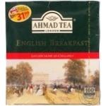 Чай Ахмад Английский к завтраку черный 2г х 100шт