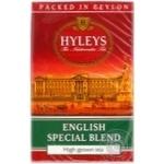 Black pekoe tea Hyleys English Special Blend small leaf with citrus oil flavor 100g Sri Lanka