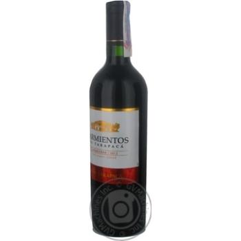 Вино Sarmientos de Tarapaca Carmenere червоне сухе 13,5% 0,75л - купити, ціни на CітіМаркет - фото 2