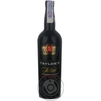 Вино Taylor`s Select Reserve Port 20% 0,75л - купити, ціни на CітіМаркет - фото 1