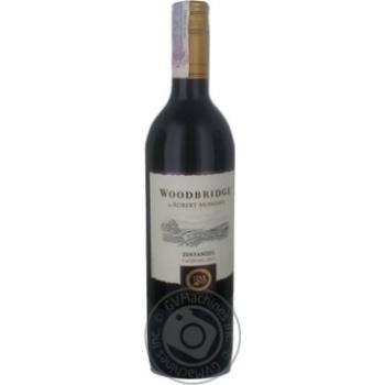 Robert Mondavi Zinfandel Woodbridge Red Dry Wine 13,5% 0,75l - buy, prices for CityMarket - photo 2