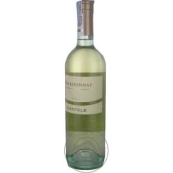 Вино Cantele Chardonnay 12.5% 0.75л - купити, ціни на CітіМаркет - фото 3