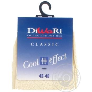 Шкарпетки чоловічі Diwari Classic Cool Effect р.27 000 бежевий 7C-23СП - купити, ціни на Фуршет - фото 7