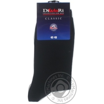Sock Diwari Classic cotton for man 27-29 - buy, prices for Novus - image 4