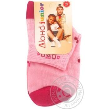 Носки детские Дюна 6В431 розовые размер 18 - купить, цены на Фуршет - фото 3