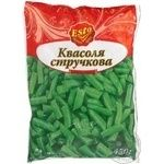 Vegetables green been Esto frozen 450g Ukraine