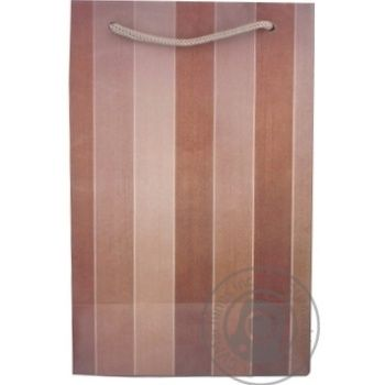 Пакет подарунковий 15х7,5х15см в асортименті - купити, ціни на CітіМаркет - фото 2