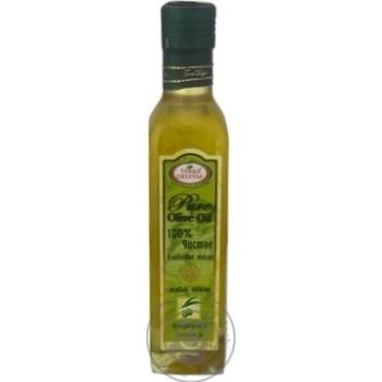 Масло Terra Delyssa оливковое Pure чистое первого отжима 0,25л