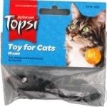 Topsi Fluffy Mouse Toy for Cats