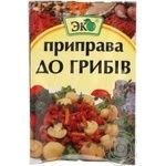Spices Eko mushroom for mushrooms 20g packaged
