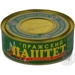 Pate Opk Prague meat with butter 240g can Ukraine