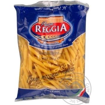 Макарони Pasta Reggia Penne mezzane rigate № 36 500г х24