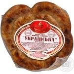 Колбаса Луганские деликатесы Украинськое свинина полукопченые Украина