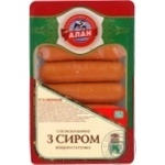 Sausages Alan cheese 330g