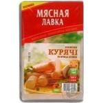 Сосиски Курячі М'ясна Лавка вар.в/с п/а в/у 300г