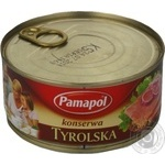 Meat Pamapol canned 300g can