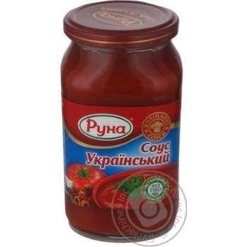 Соус Руна Український 485г - купити, ціни на Novus - фото 6