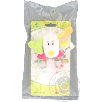 Devik Rattle Toy 12cm - buy, prices for Furshet - image 1