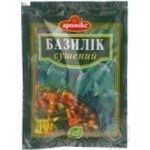 Spices basil Aromix dried 10g packaged