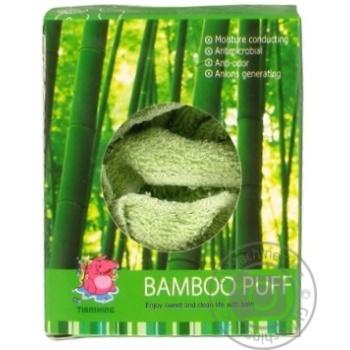 Мочалка-пуф Camille бамбук - купити, ціни на Фуршет - фото 3