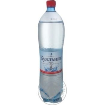 Вода Куяльник сильногазированная лечебно-столовая пластиковая бутылка 1500мл Украина