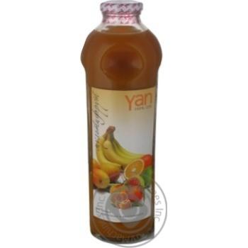 Сок Ян мультифруктовый восстановленный без сахара стеклянная бутылка 930мл Армения