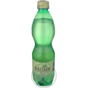 Вода Набеглаві сильногазована лікувально-столова пластикова пляшка 500мл Грузія - купити, ціни на Novus - фото 4