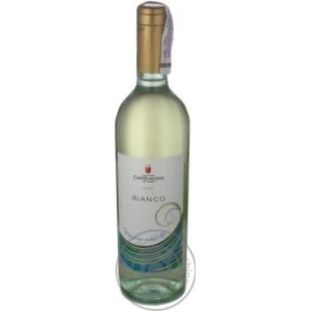 Вино Castelnuovo Bianco біле напівсолодке 13% 0,75л - купити, ціни на Ашан - фото 1