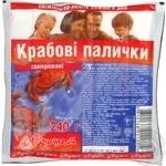 Крабовые палочки краб полуфабрикат 240г Украина