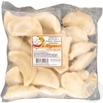 Вареники с картофелем полуфабрикат 600г Украина