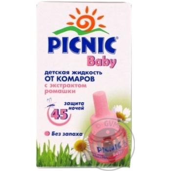 Picnic Baby Liquid From Mosquitoes Children's 45nights 30ml