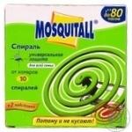 Спіраль від комарів Mosquitall Універсальний захист 10шт
