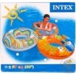 Круг надувной с ручками Intex 58263 - купить, цены на Фуршет - фото 1