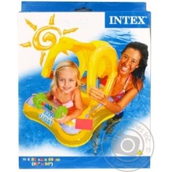 Лодка надувная с навесом Intex 56581 NP
