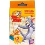 Мел Cool for school Tom & Jerry 02631 6 цветов 12шт
