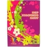 Набір паперу кольорового А414ар.Economix 7 кольорів Africa 60910