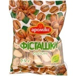 Snack pistachio Aromix salt salt 75g sachet