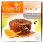Dessert Creamoire Fondant with chocolate for desserts 85g Ukraine