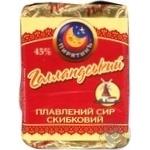 Сыр Молочный шлях Пирятин Голландский плавленый пастообразный 45% 100г Украина