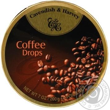 Леденцы Cavendish&Harvety Coffee Drops 200г - купить, цены на Восторг - фото 1