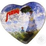 Candy Sorіnі Heart latte chocolate with filling 175g packaged Italy