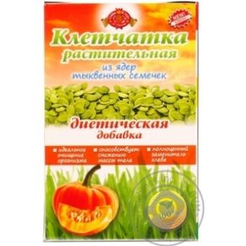 Скидка на Клетчатка растительная Голден Кингз оф Юкрейн из ядер тыквенных семечек диетическая добавка 190г Украина