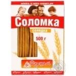 Соломка сладкое 500г в упаковке Украина