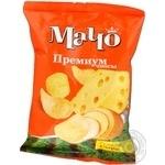Чіпси Мачо Преміум картопляні зі смаком сиру 70г Україна