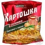 Соломка Юпитер со вкусом сметаны 25г Украина